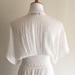 Vici Dresses - Vici Hemingway White Boho Duster Kimono, S